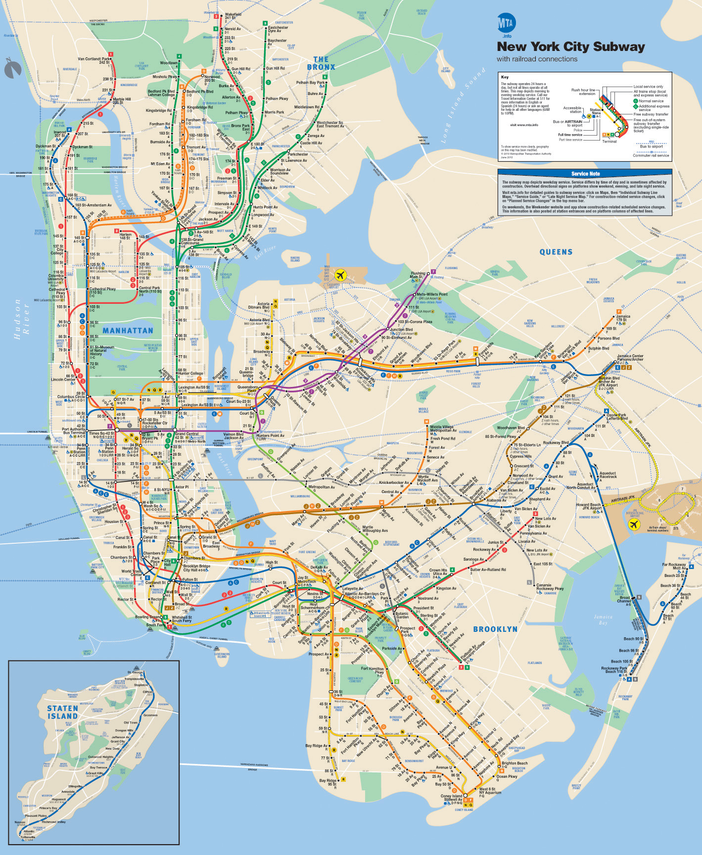 Is the subway in new york easy to use quizlet